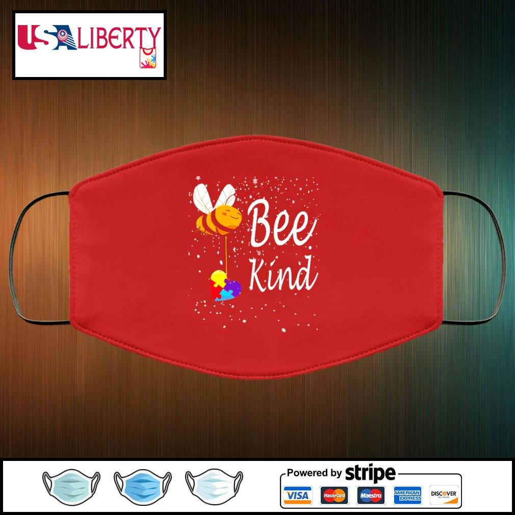 Be kind face mask face-mask-red-color