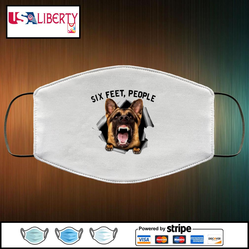 German Shepherd 6 Feet People face mask