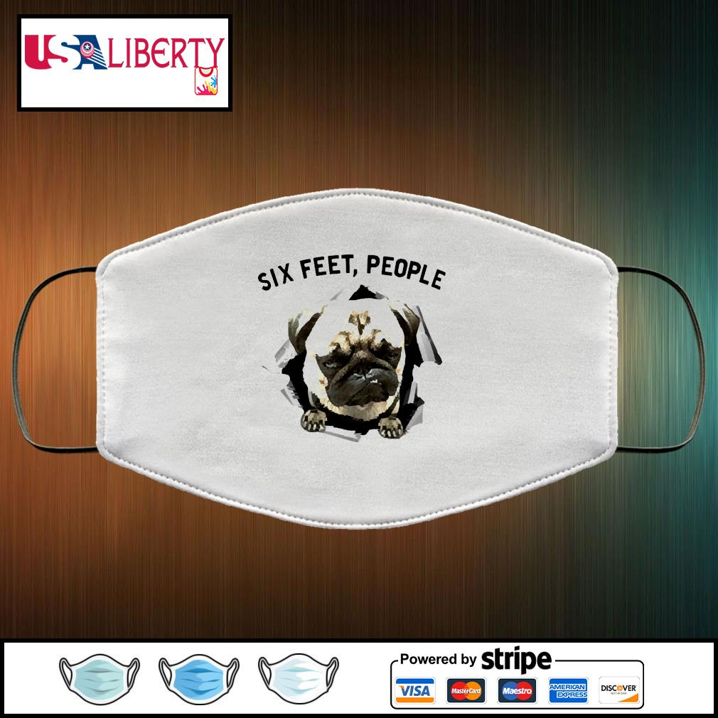 NEW Bulldog six feet people face mask