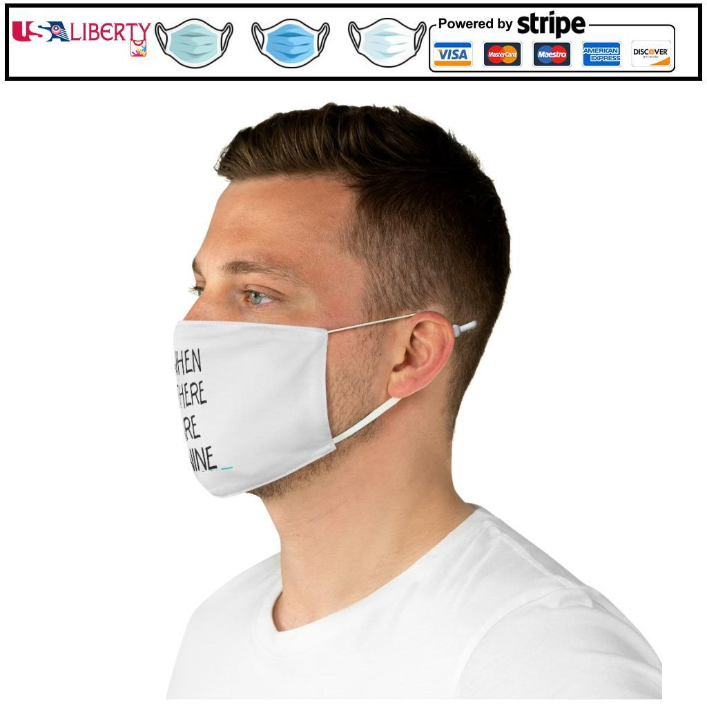 Notorious RBG When There Are Nine face mask e