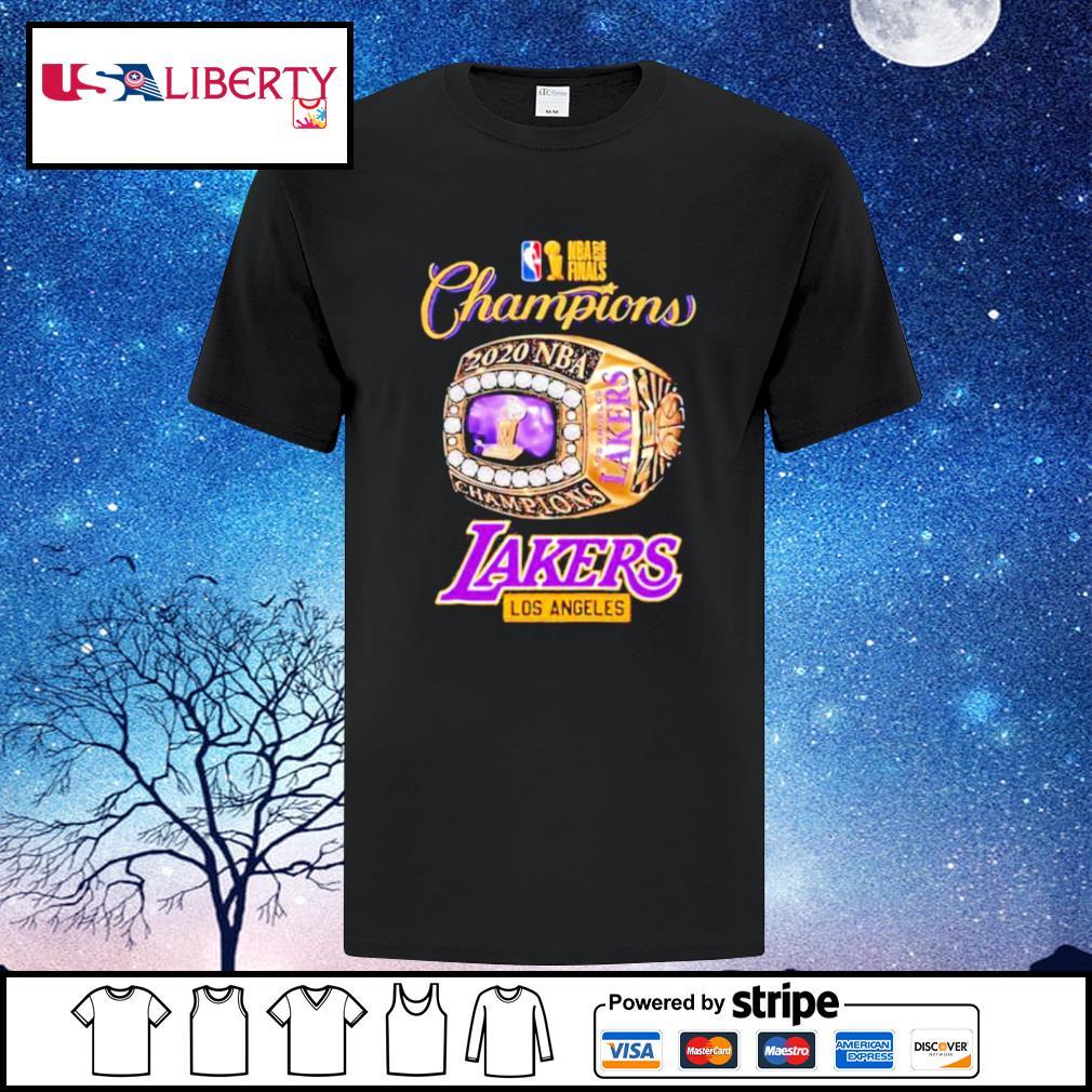 Nba finals 2020 champions los angeles lakers shirt