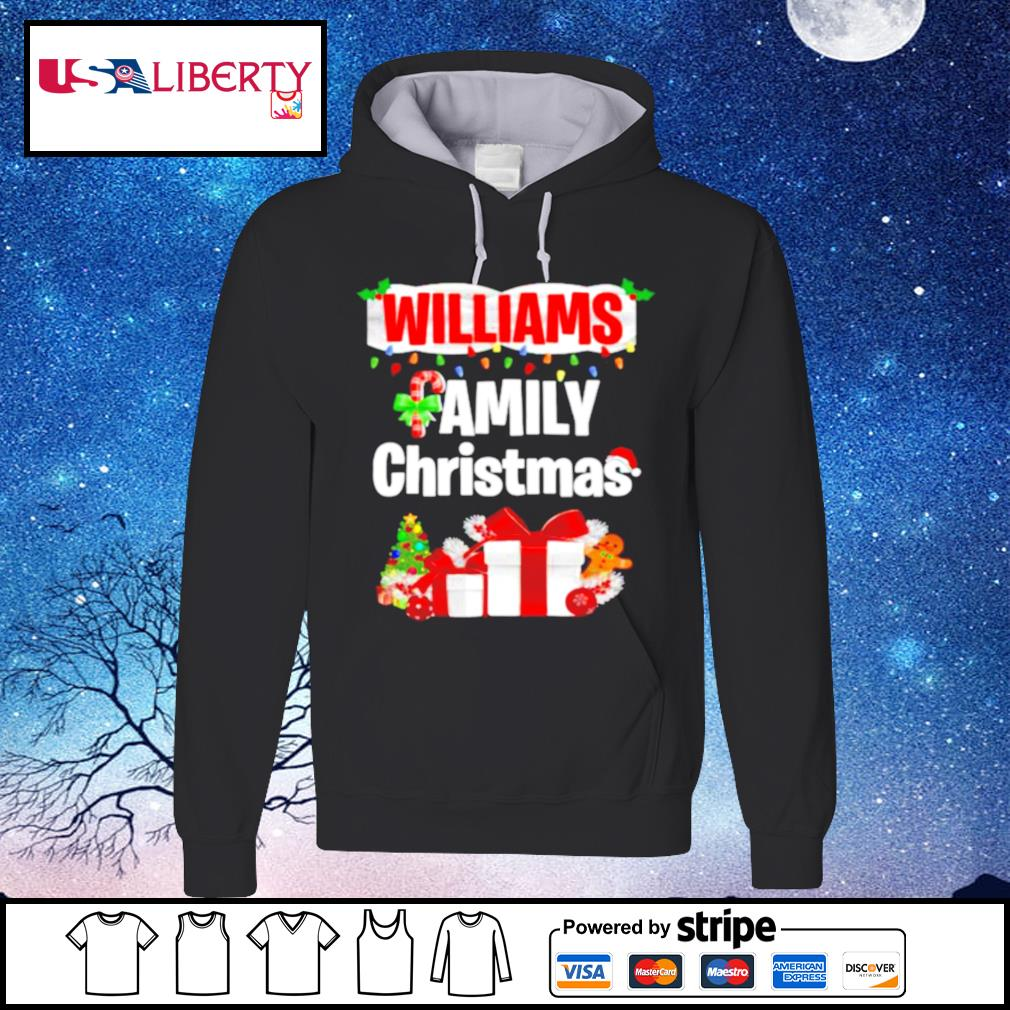 Williams family gift merry christmas 2020 s hoodie