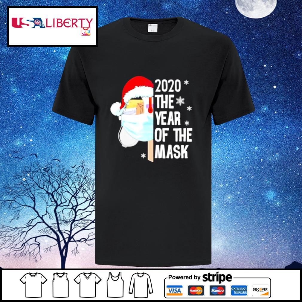 Mailbox Santa 2020 The Years Of The Mask Christmas shirt