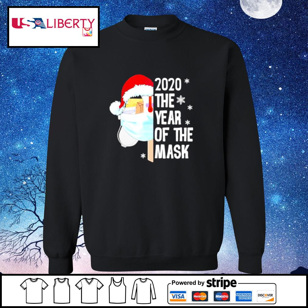 Mailbox Santa 2020 The Years Of The Mask Christmas s sweater