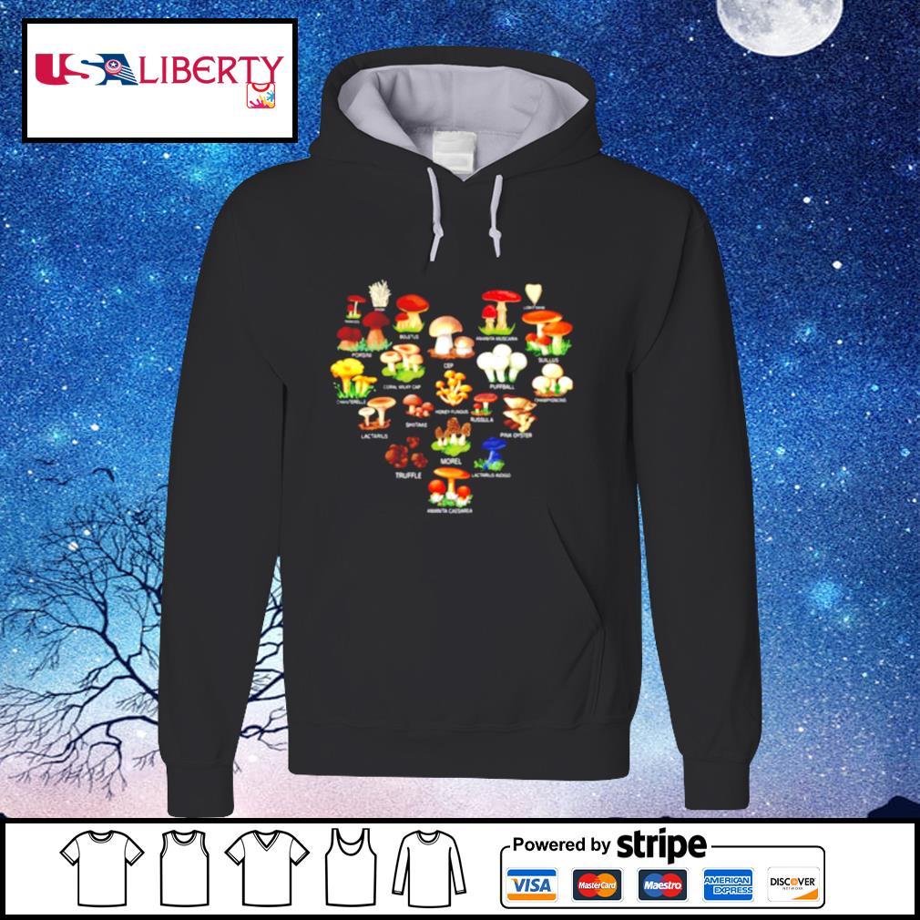 Mushroom Parasol Enoki Boletus s hoodie
