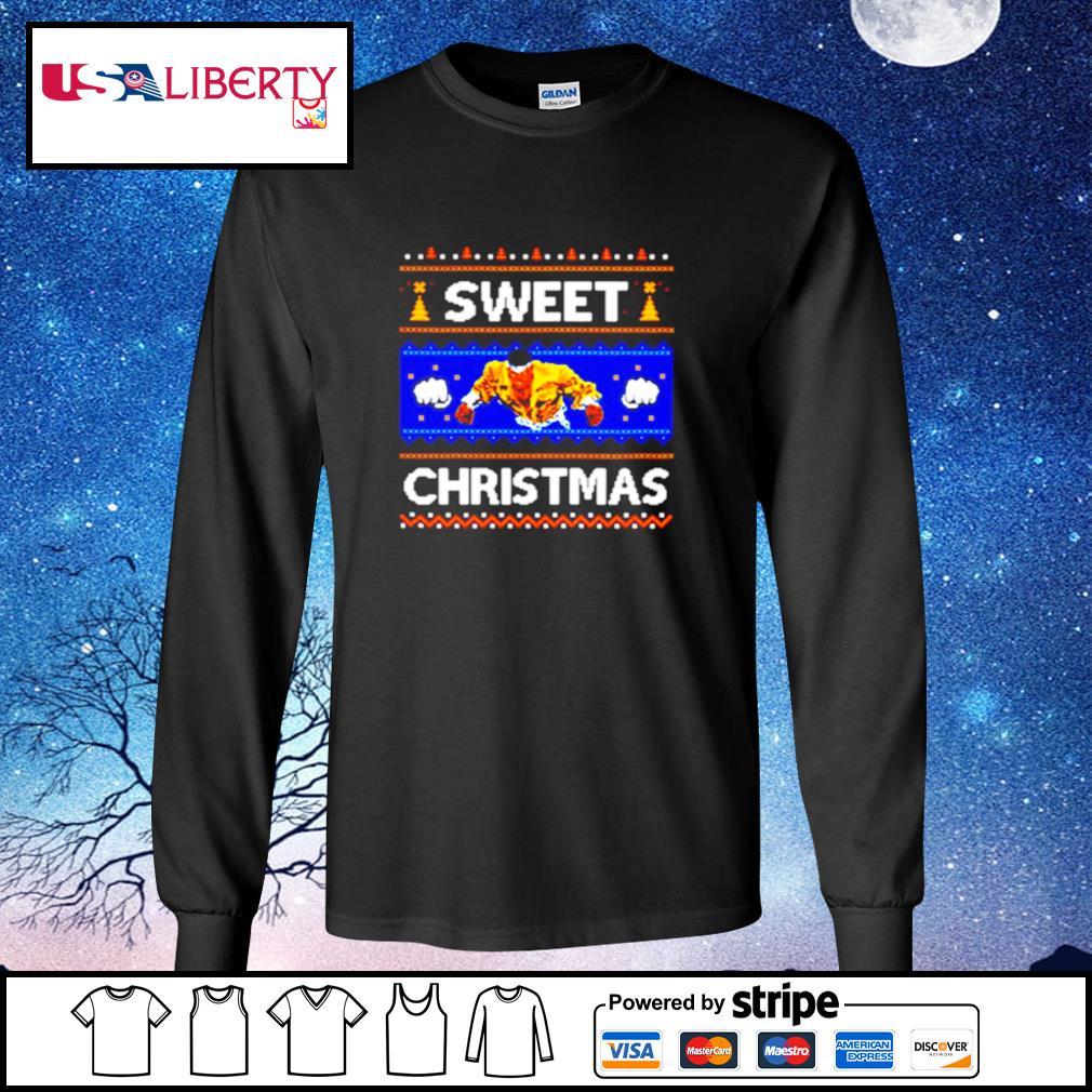 Sweet Christmas Ugly s longsleeve-tee
