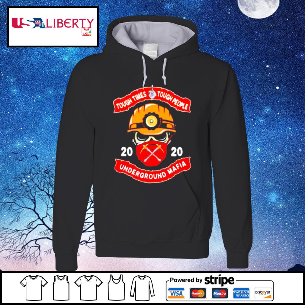 Fireman face mask 2020 tough times tough people underground mafia s hoodie