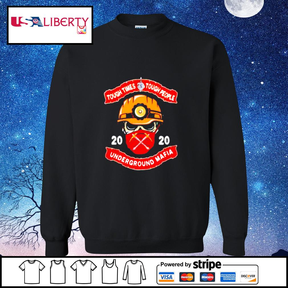 Fireman face mask 2020 tough times tough people underground mafia s sweater