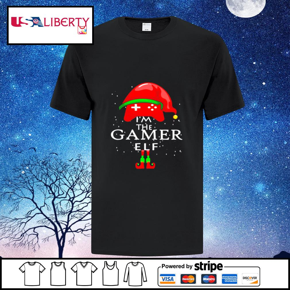 Im A Gamer Elf Matching Family Group Christmas shirt