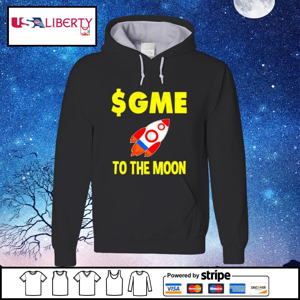 $GME To The Moon Ff GameStonk s hoodie